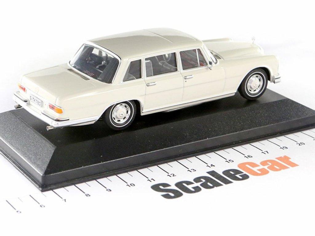 1:43 IXO Mercedes-Benz 600 W100 белый