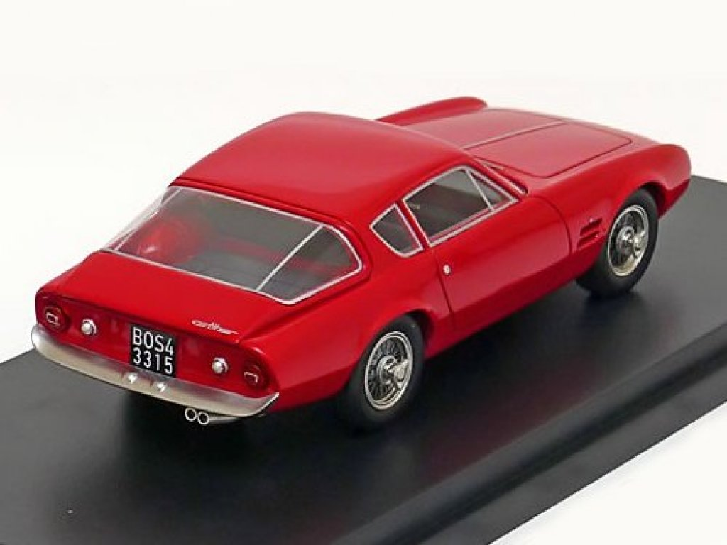 1:43 Best of Show FIAT Ghia 2300 S Coupe красный