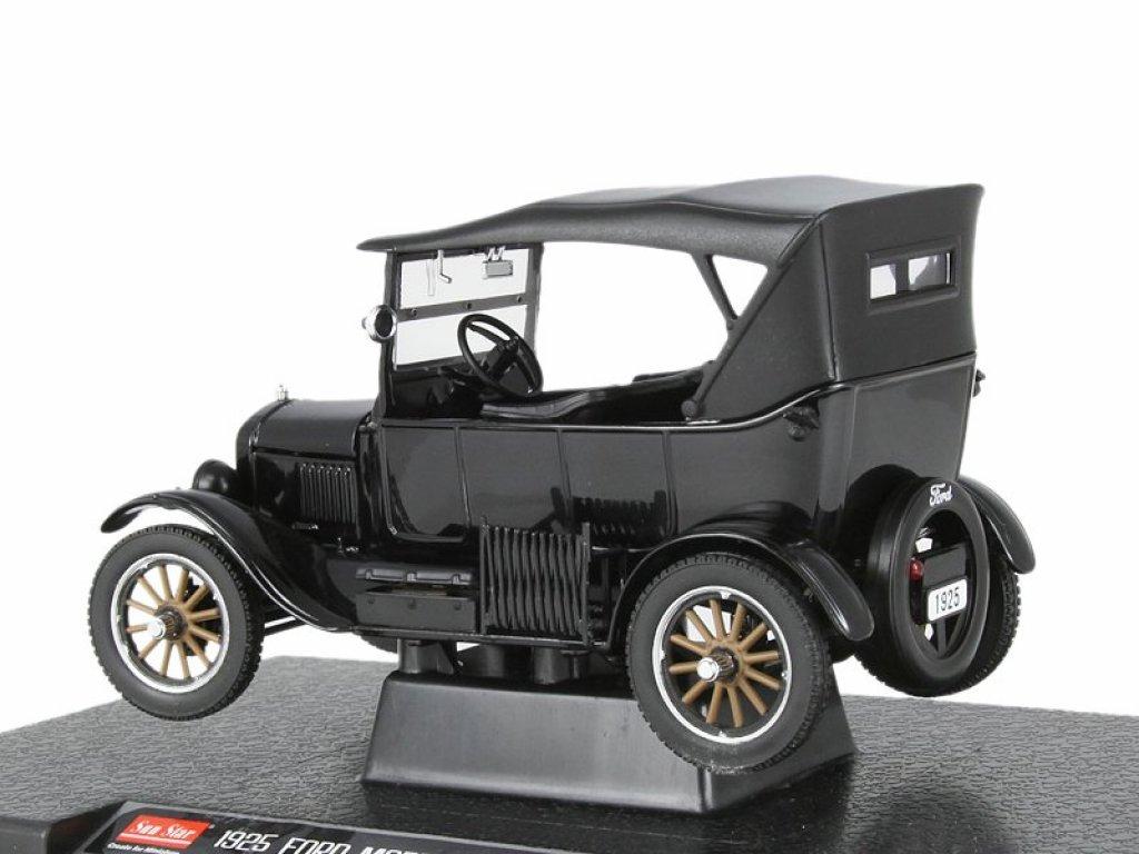 1:24 Sunstar Ford Model T Touring 1925 черный