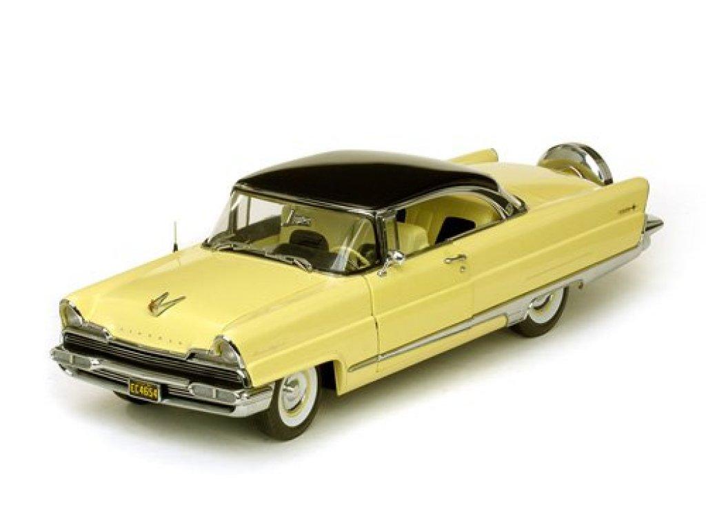 1:18 Sunstar Lincoln Premiere 1956 черный с желтым