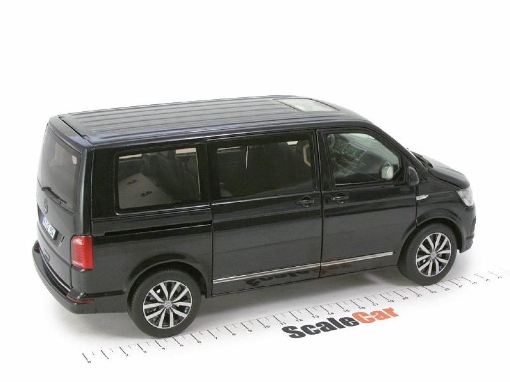 1:18 NZG Volkswagen Multivan Highline T6 черный