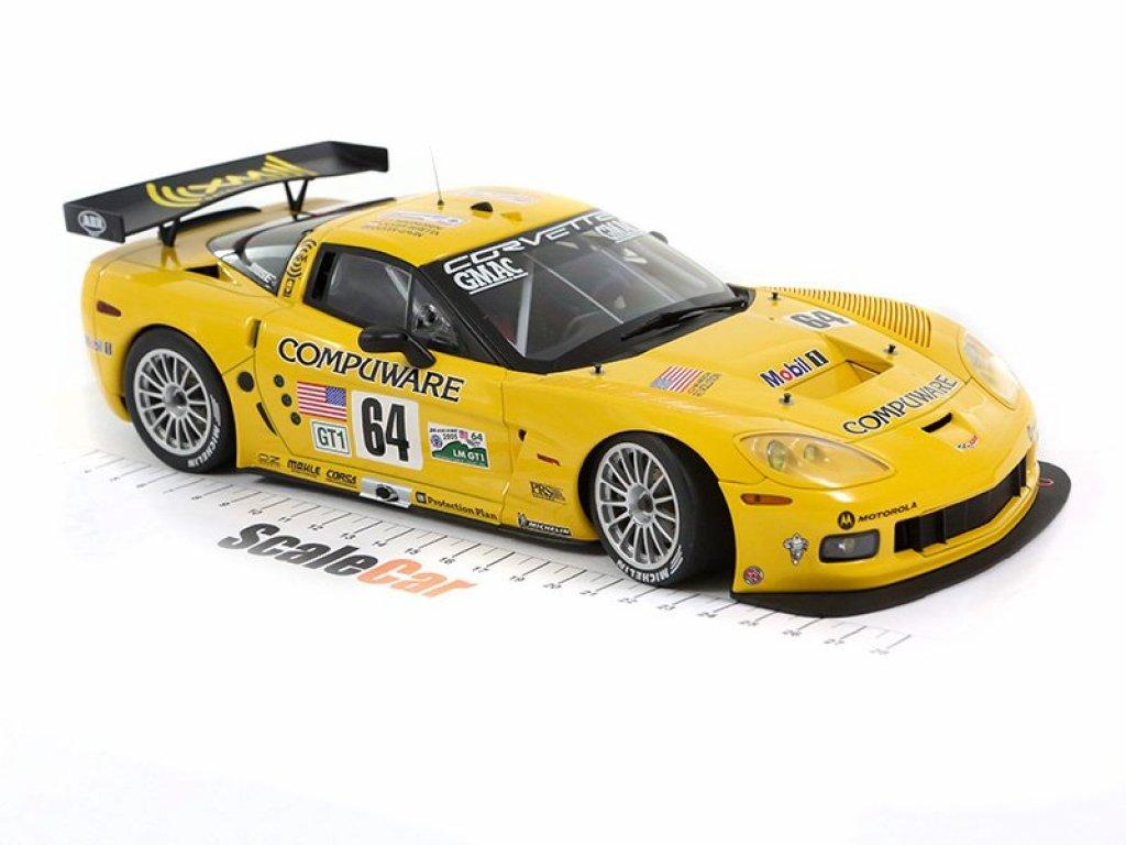 1:18 AUTOart Chevrolet Corvette C6R 24h LeMans победитель 2005 #64 J.Magnussen/O.Beretta/O.Gavin