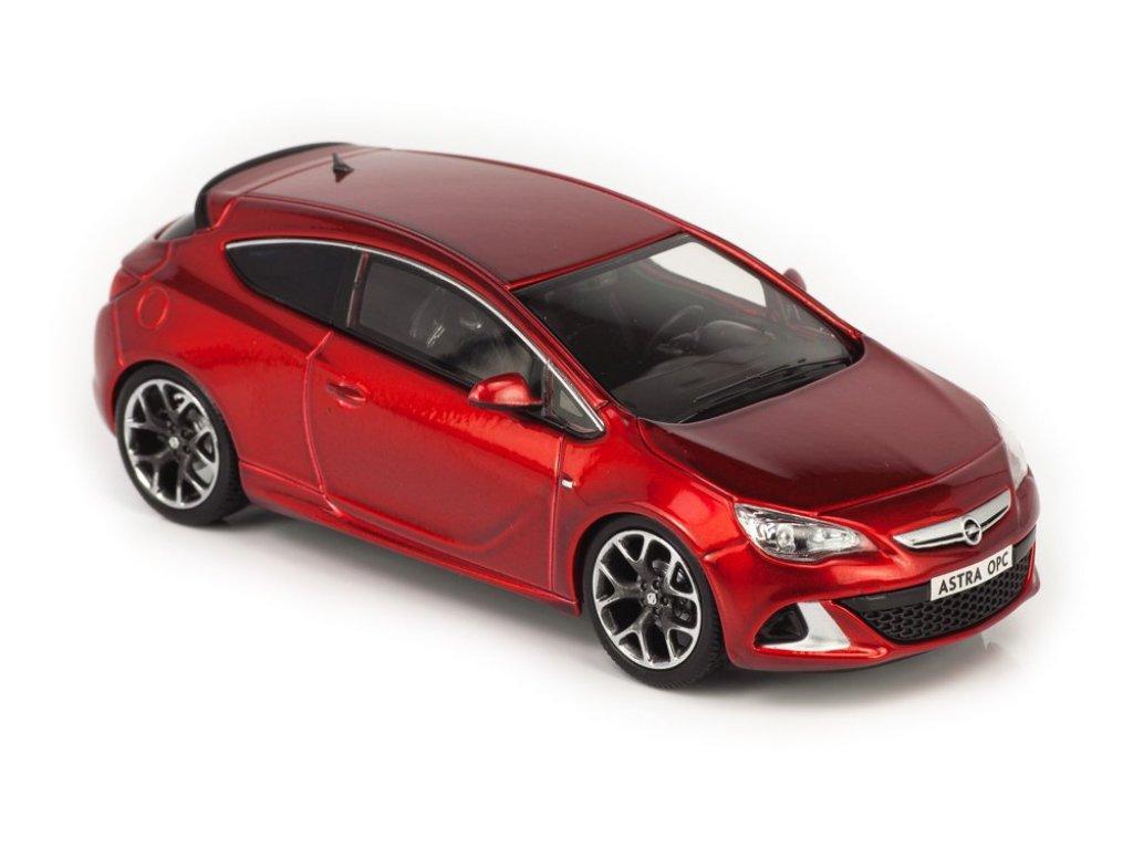 1:43 Norev Opel Astra OPC (Astra J, Astra GTC) красный
