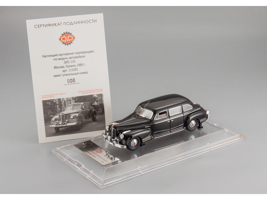 1:43 DiP Models ЗИС 115 Москва, Кремль 1980 (черный)