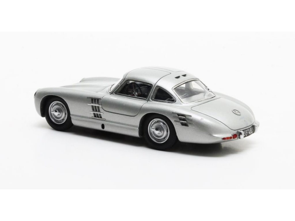 1:43 Matrix Mercedes-Benz 300SL Transaxle Prototype W194 1953 серебристый