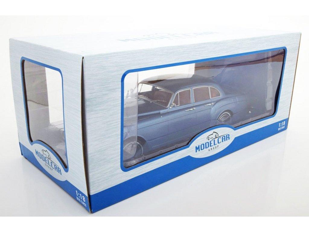 1:18 IXO Rolls Royce Silver Cloud III Flying Spur H.J. Mulliner 1965 голубой металлик
