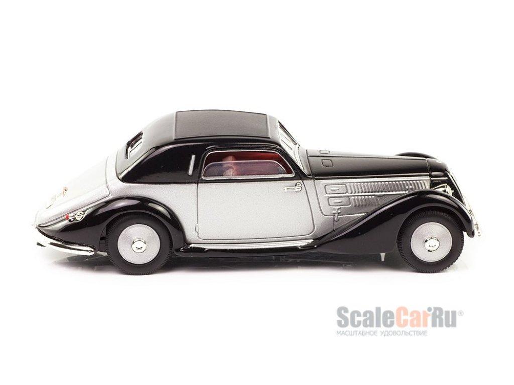 1:43 Atlas Lancia Astura (233) 1934 черный с серебристым
