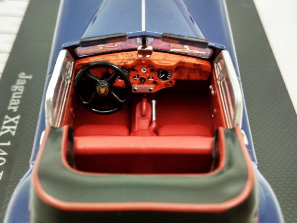 1:43 Dongguan Jaguar XK 140 DHC 1955 синий