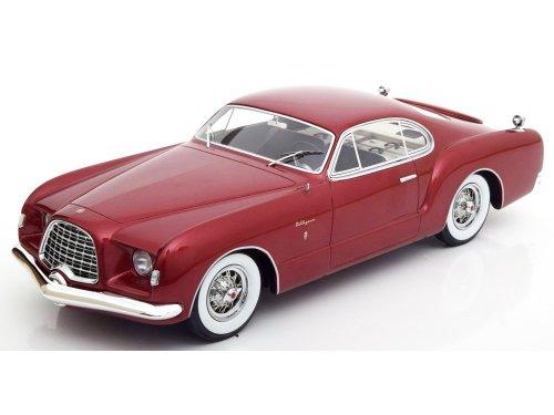 1:18 Best of Show Chrysler D Elegance 1953 бордовый металлик