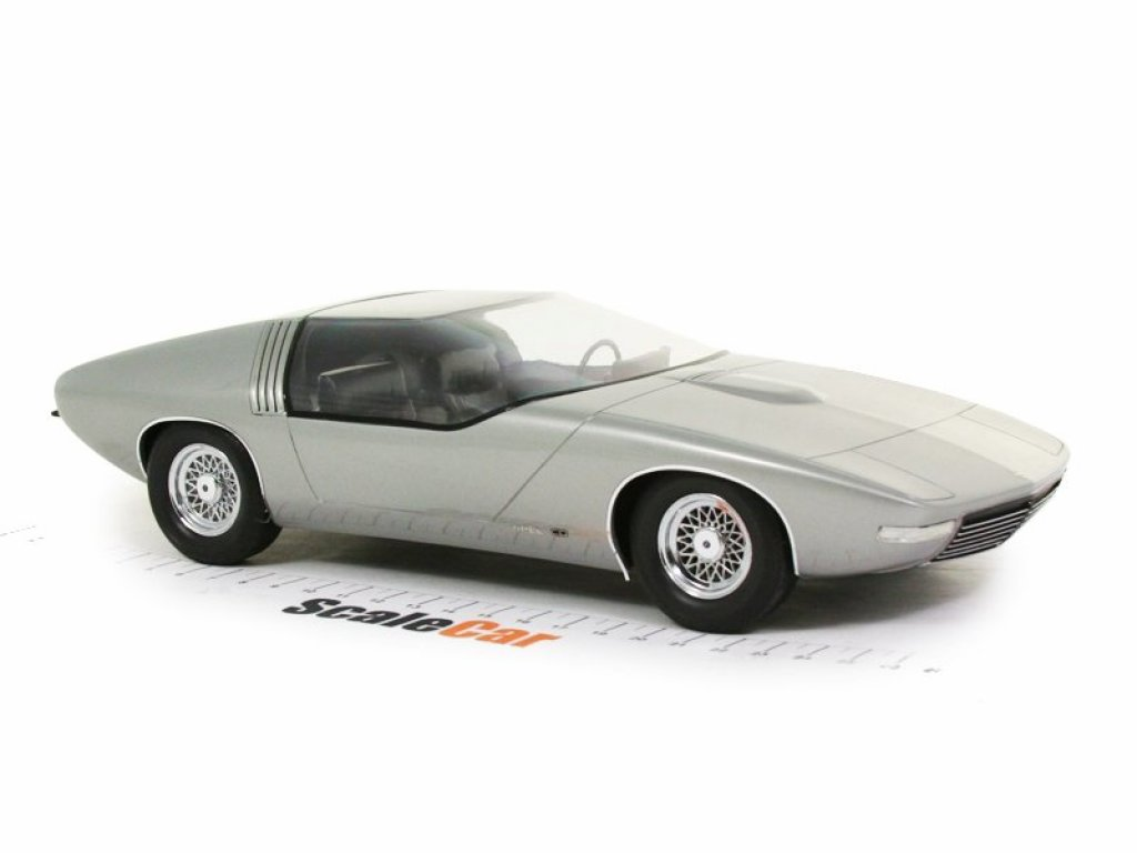 1:18 Best of Show Opel CD Concept 1969 серебристый