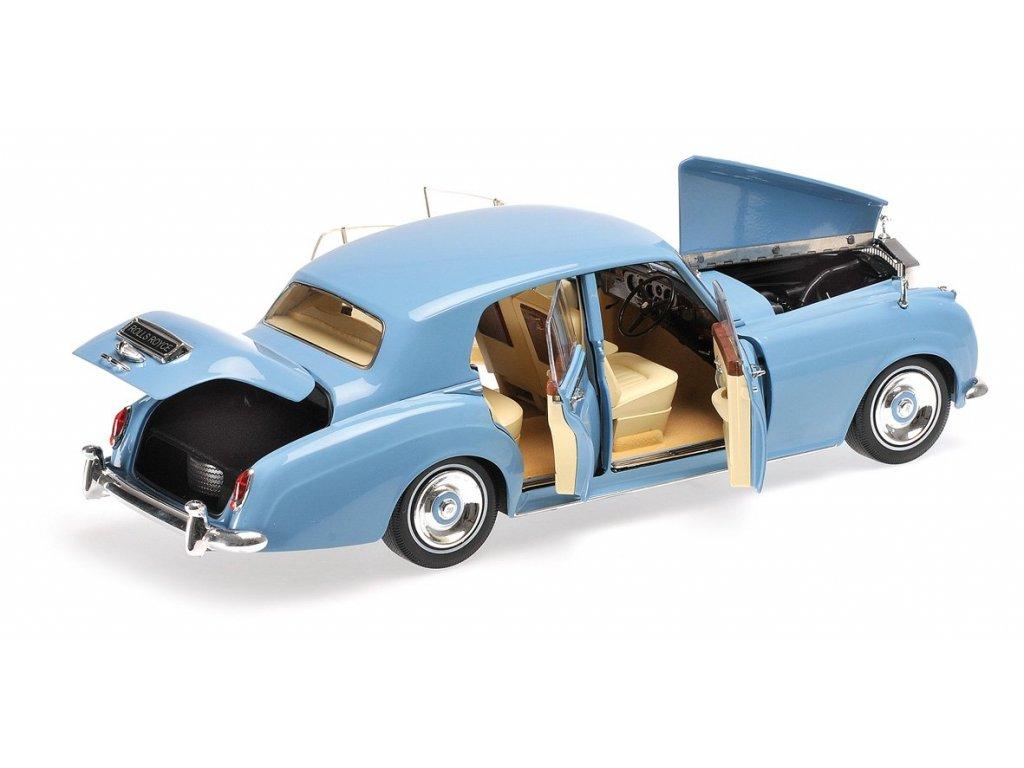 1:18 Minichamps Rolls Royce Silver Cloud II - 1960 - синий