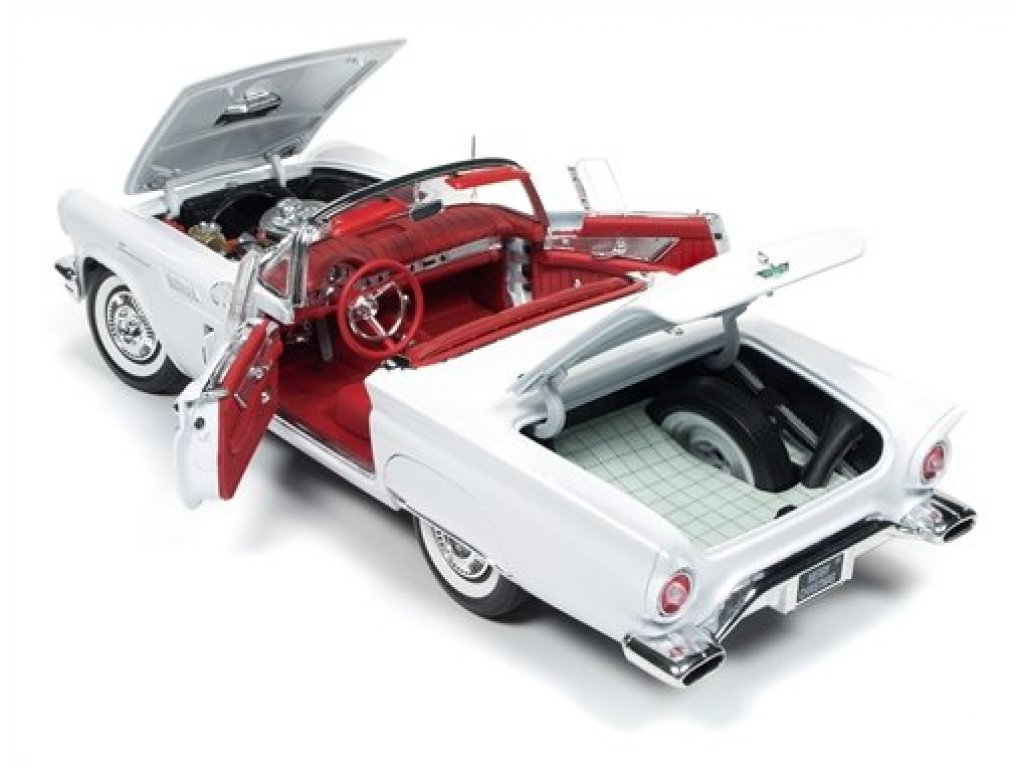 1:18 Auto World Ford Thunderbird 1957 белый