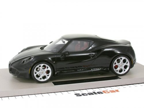 1:18 Top Marques Alfa Romeo 4C черный