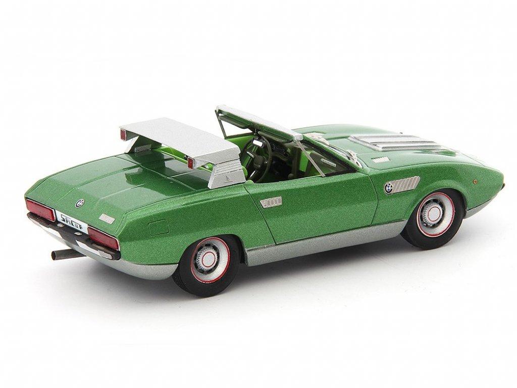 1:43 AutoCult BMW 2800 Spicup Bertone Italy 1969 зеленый