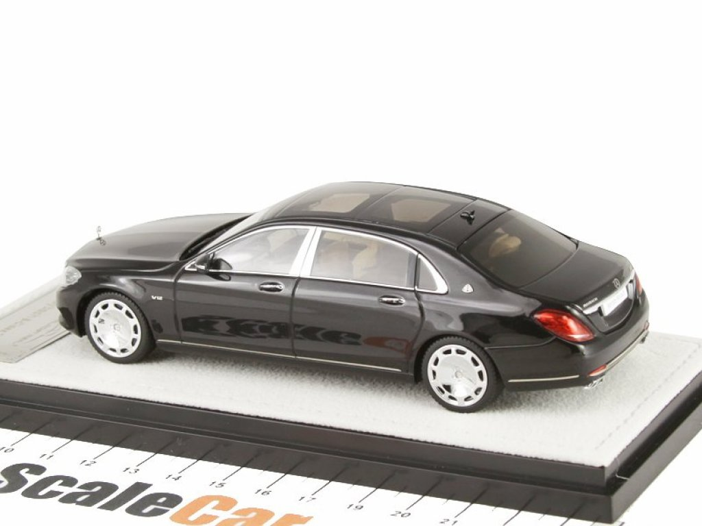 1:43 Almost Real Mercedes-Maybach S-Class 2016 X222 (W222) черный