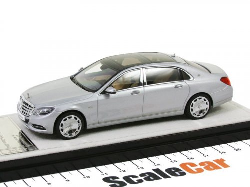 1:43 Almost Real Mercedes-Maybach S-Class 2016 X222 (W222) серебристый