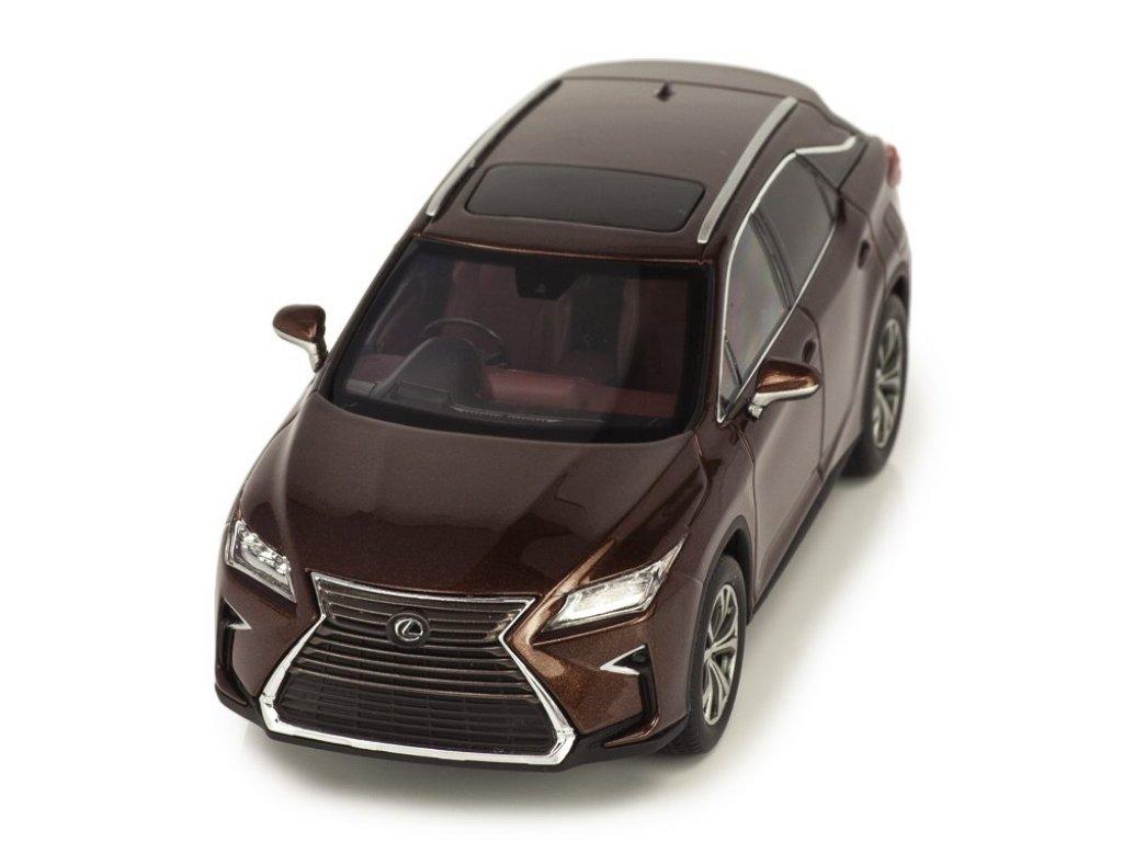 1:43 Kyosho Lexus RX200t коричневый