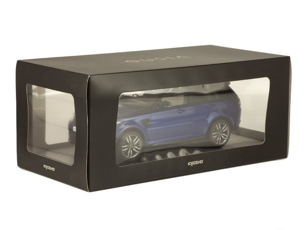 1:18 Kyosho Range Rover Sport SVR синий