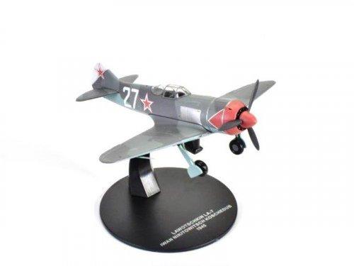 1:72 Atlas Лавочкин ЛА-7 Трижды Героя Советского Союза Ивана Кожедуба (64 победы) 1945