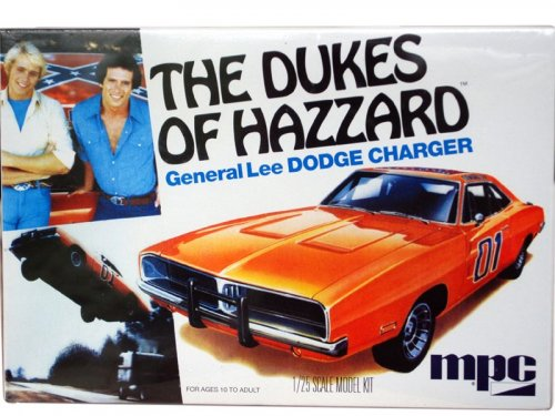 1:25 MPC Dukes of Hazzard General Lee 1969 Dodge Charger