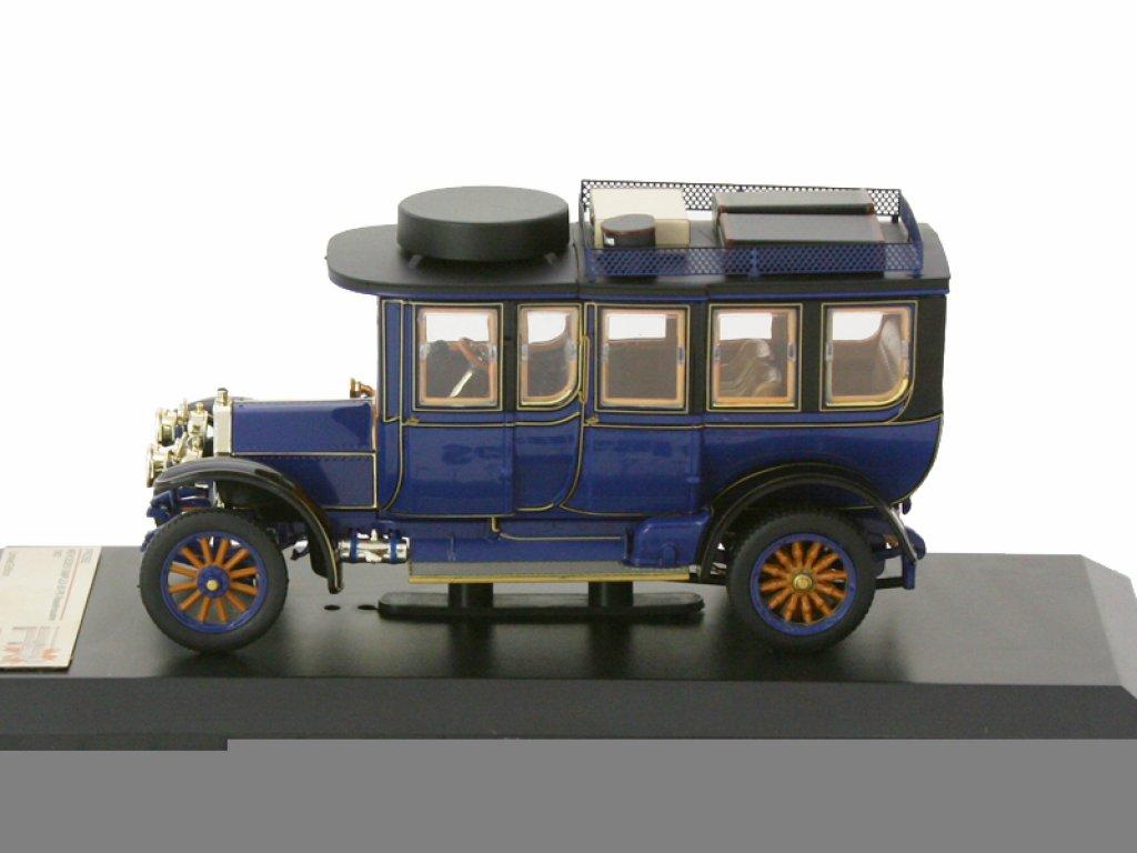 1:43 PremiumX Mercedes-Benz Simplex 60 PS Touring Limousine 1903 темно-синий