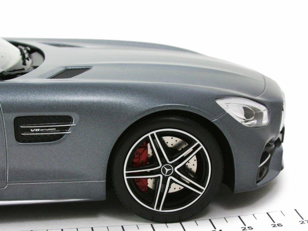 1:18 Norev Mercedes-Benz AMG GT C Roadster R197 серый металлик