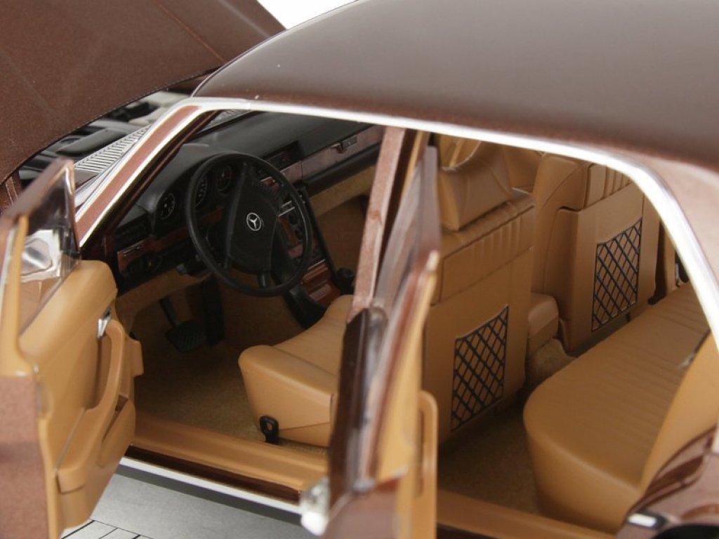 1:18 Norev Mercedes-Benz 450 SEL 6.9 (W116) 1976 коричневый