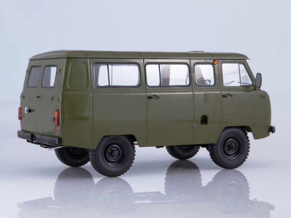 1:18 Start Scale Models УАЗ-452В Автобус хаки