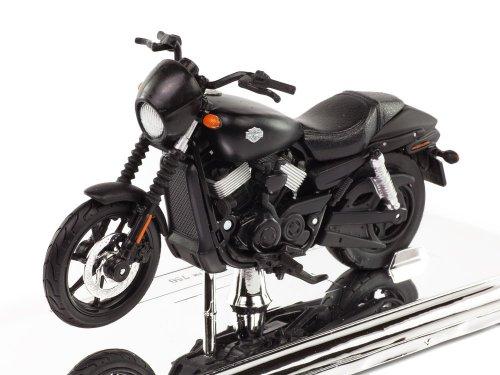 1:18 Maisto Harley-Davidson Street 750 2015 черный