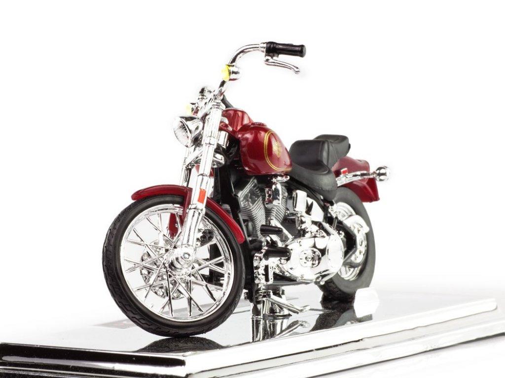 1:18 Maisto Harley-Davidson FXST Softail 1984 красный