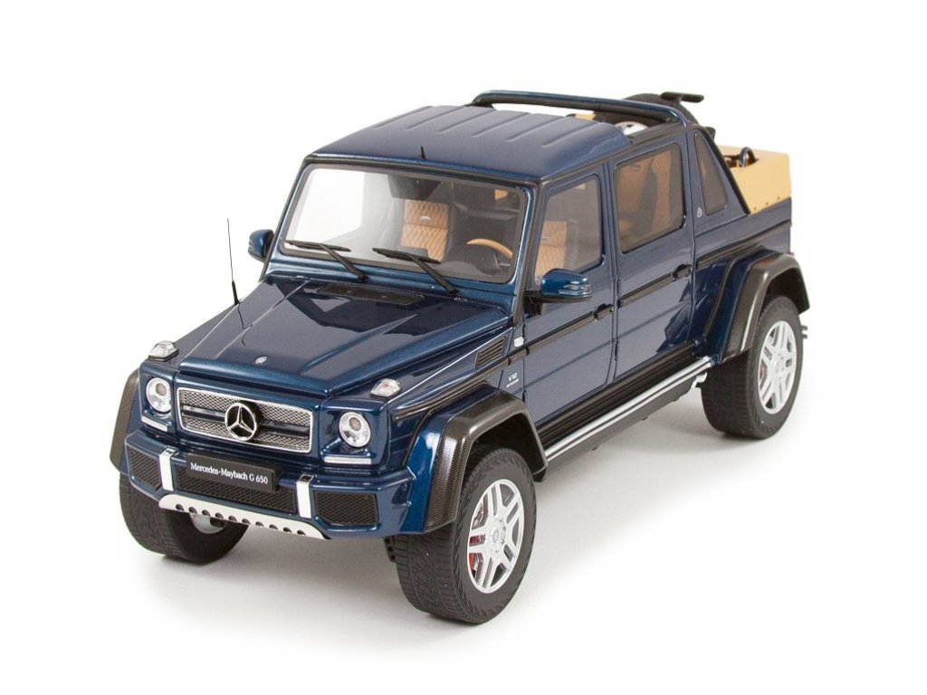 1:18 GT Spirit Mercedes-Maybach G650 2017 W463 синий металлик