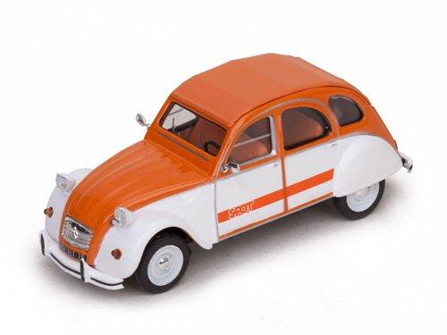 1:43 Vitesse Citroen 2CV SPOT 1976 оранжевый с белым