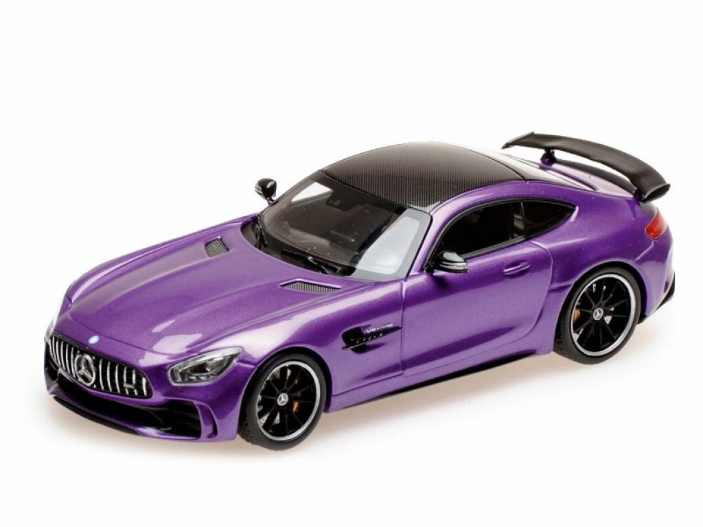 1:43 Almost Real Mercedes AMG GT R 2017 фиолетовый металлик