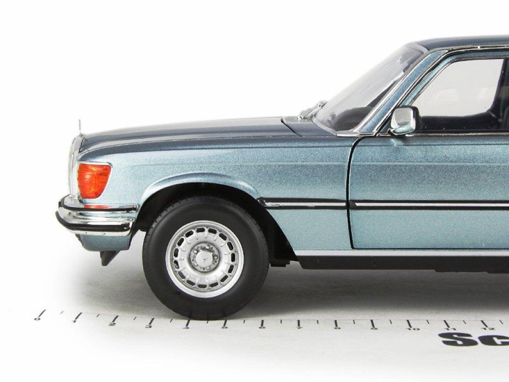 1:18 Norev Mercedes-Benz 450 SEL 6.9 (W116) 1976 голубой металлик