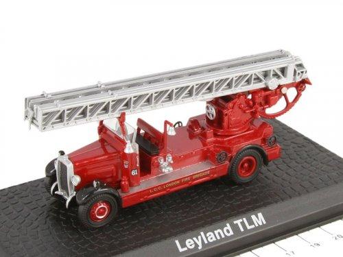 1:72 Atlas Leyland TLM лестница Metz London Fire Brigade 1935 пожарный