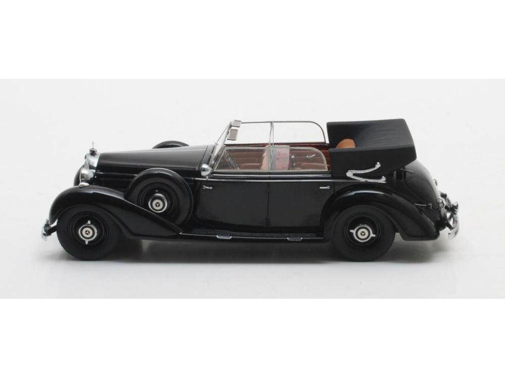 1:43 Matrix Mercedes-Benz 770 Cabriolet D (W07) 1938 черный