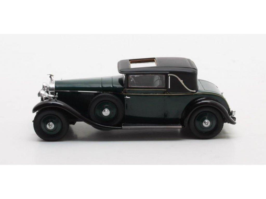 1:43 Matrix Hispano Suiza H6B Park Ward Coupe #11608 1927 зеленый
