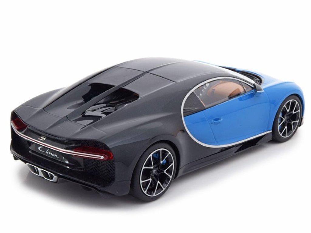1:18 Kyosho Bugatti Chiron синий