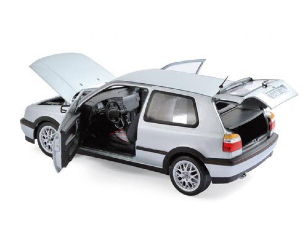 1:18 Norev Volkswagen Golf GTi 1996 (Golf III) юбилейный к 20-ти летию Гольф, серебристый