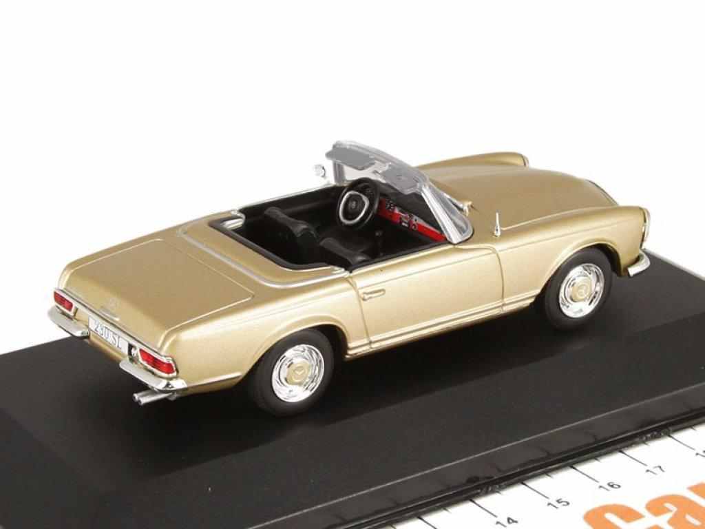1:43 IXO Mercedes-Benz 230SL Pagode W113 1963 золотистый