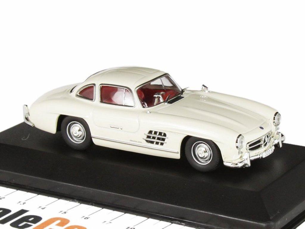 1:43 IXO Mercedes-Benz 300SL Gullwing W198 1954 белый
