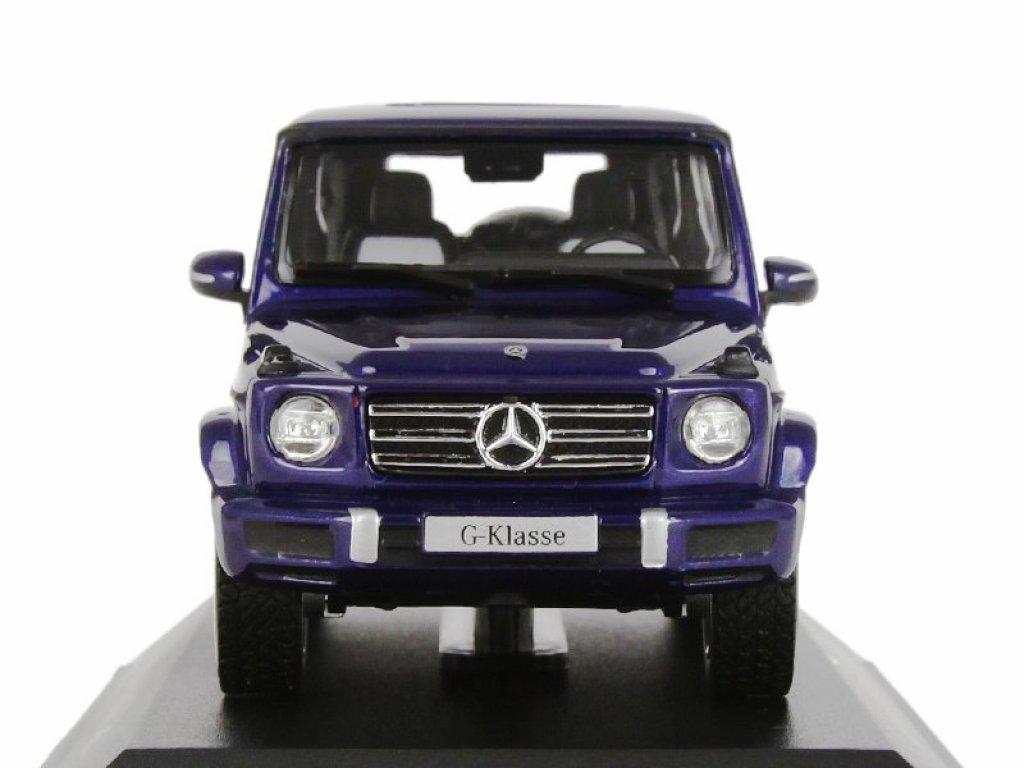 1:43 Norev Mercedes-Benz G-class (Новый кузов) 2018 W463 II синий металлик