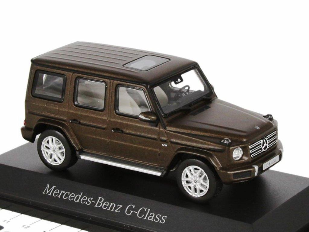 1:43 Norev Mercedes-Benz G-class 2018 (Новый кузов) W463 II коричневый металлик