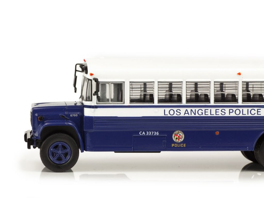 1:43 IXO GMC 6000 1988 LAPD Police Department Полиция Лос-Анжелеса