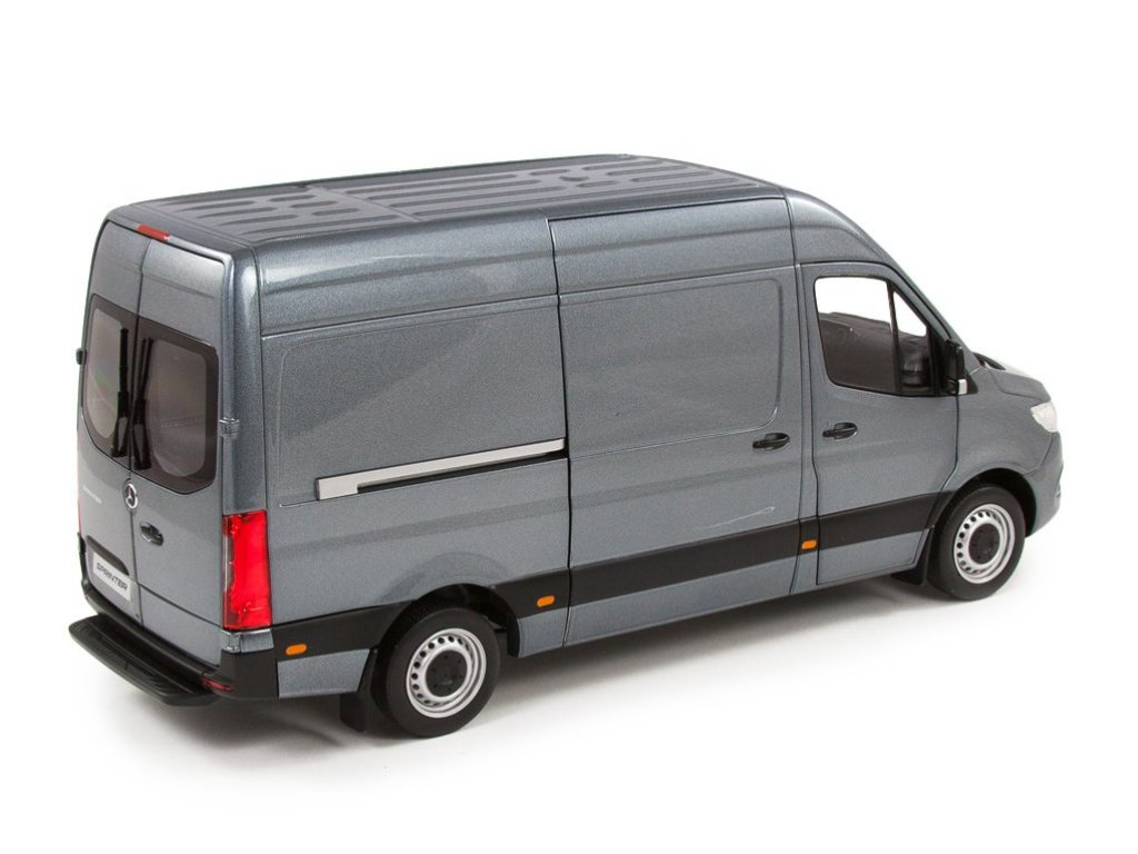 1:18 Norev Mercedes-Benz Sprinter W907 2018 фургон серый