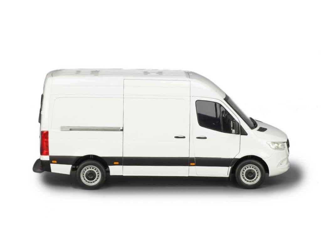 1:18 Norev Mercedes-Benz Sprinter W907 2018 фургон белый