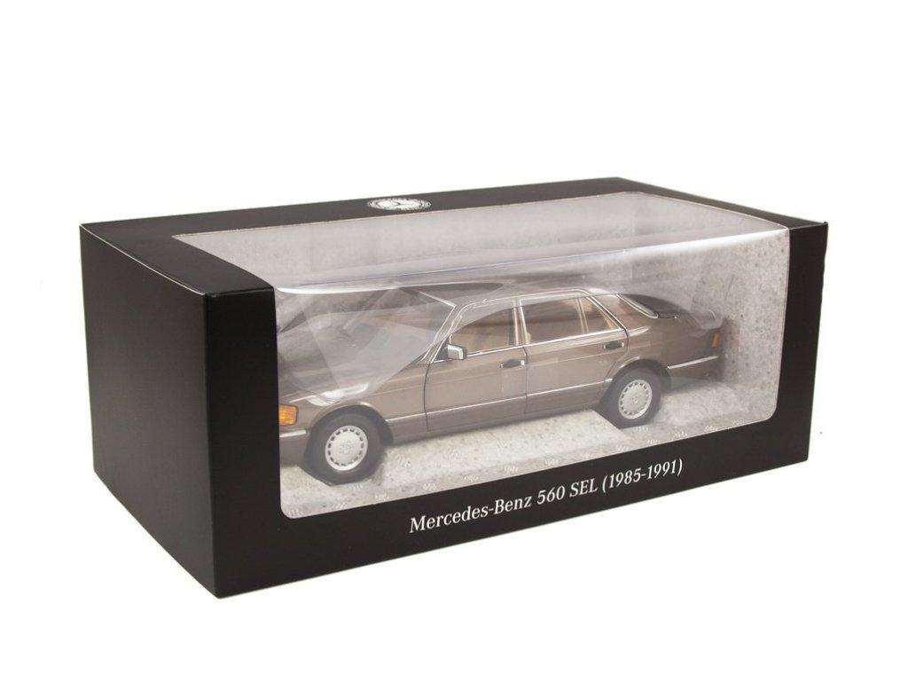 1:18 Norev Mercedes-Benz 560 SEL V126 (W126) 1985 коричневый металлик