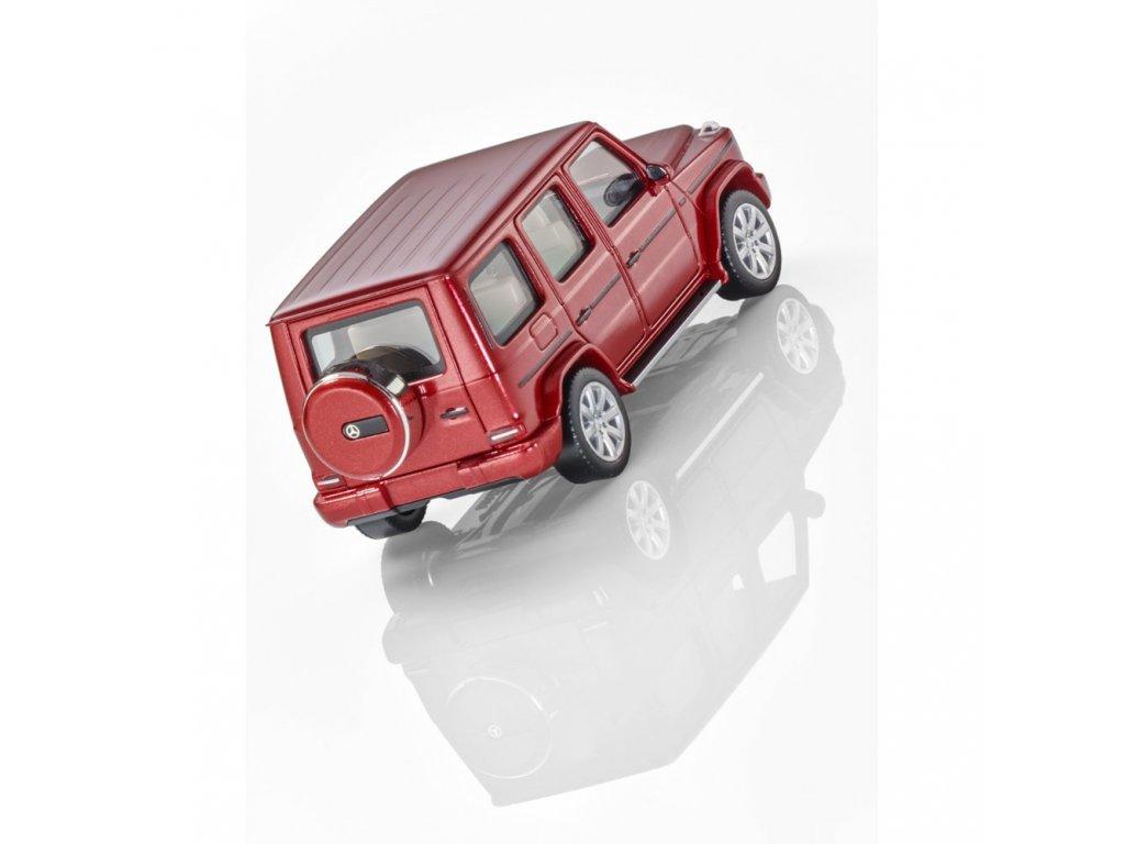 1:87 Herpa Mercedes-Benz G-class 2018 W463 II красный металлик