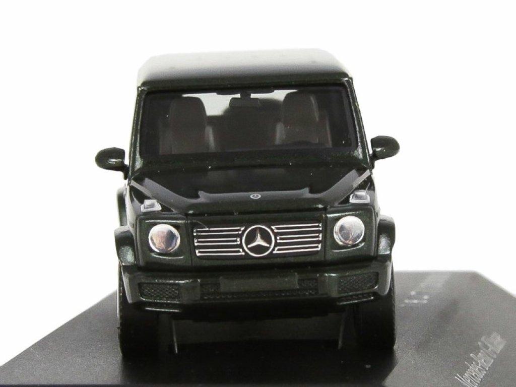 1:87 Herpa Mercedes-Benz G-class 2018 W463 II темно-зеленый металлик
