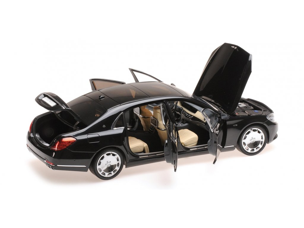 1:18 Almost Real Mercedes-Maybach S-class X222 (W222) SWB 2016 черный